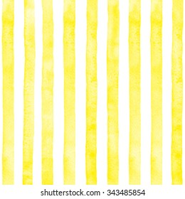 Watercolor yellow vertical stripes.
