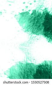Watercolour Background Pattern. Shibori Pattern. Hand Drawn Abstract Ornament. Abstract Ethnic Dirty Art. Ink Textured Shibori Style. Aquamarine, White Watercolour Background Pattern.