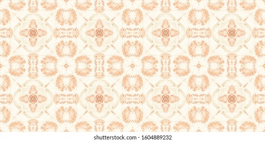 Watercolour Portuguese Tile. White Aquarelle. Yellow Flower Tiles. Patterns Decorative. Old Lisbon Patterns. Brown Ethnic Ornament. Santorini Texture. Yellow Ethnic Tile.