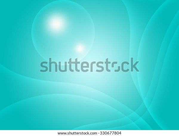 Wave Abstract Wallpaper Background Stock Illustration 330677804