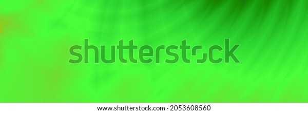 Wave green abstract header autumn color background