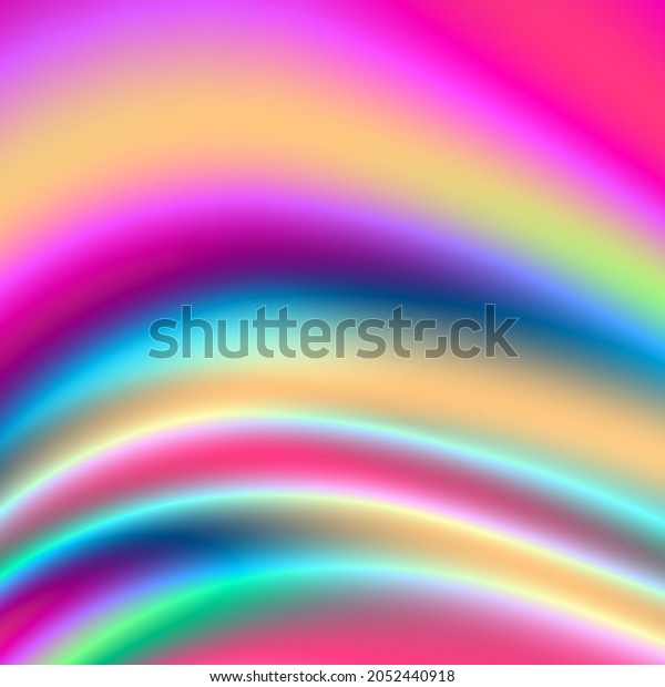 Wave rainbow art colorful abstract background
