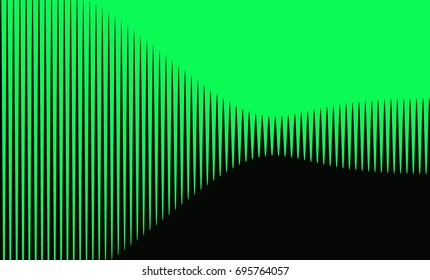 Waves abstract background
