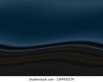 waves background with very dark blue, dark slate gray and very dark green color. waves backdrop can be used for wallpaper, presentation, graphic illustration or texture.