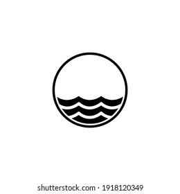 waves icons symbols favicons logos
