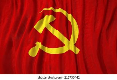 Communist Flag Images, Stock Photos & Vectors | Shutterstock