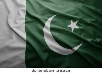 Asian East Pakistan Flags Images, Stock Photos & Vectors