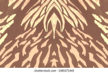 Wallpaper Designer Zebra/'s on Chocolate Brown Backround