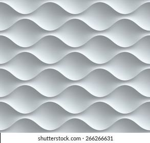 wavy seamless 3d background