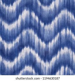 Wavy Shibori Graphic Motif. Seamless Pattern.