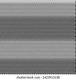 Wavy stripes design black and white pattern. Retro wavy texture. Geometric lines monochrome design illustration