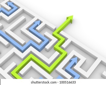 Way out of the labyrinth