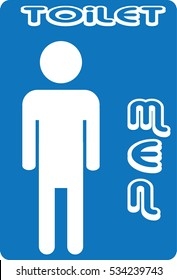 WC icon, toilet icon. funny wc restroom symbols. WC sign for restroom.
