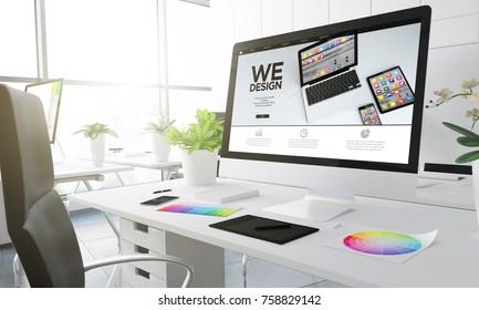 we design studio 3d rendering