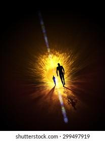 we walk into the light