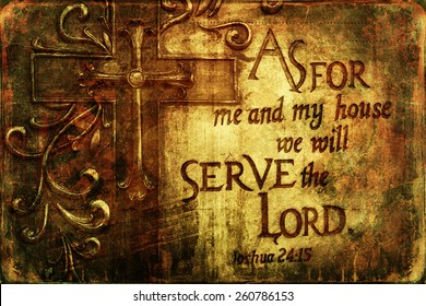 We will serve the Lord Religious  Background