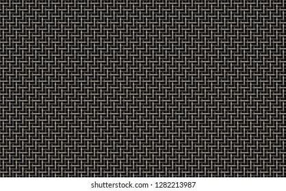weaved metal 3d illustration 45x28cm 300dpi