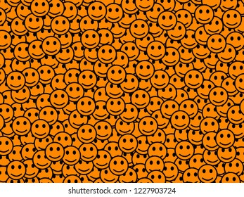 Web theme. Abstract template. Throng containing multiple moods.