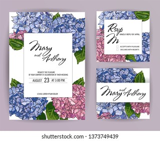 Wedding Invitation, berry invite card Design: Hand drawn colorful marker illustration. Doodle sketch line Raspberry, strawberry, cherry,blueberry on white background frame print. menu, rsvp set