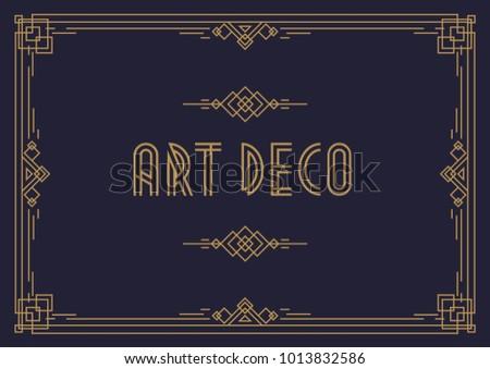 Wedding Invitation Card Template Horizontal Art Stock Illustration ...