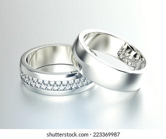 Unusual Wedding Rings Images Stock Photos Vectors Shutterstock