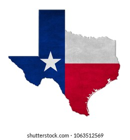 Welcome to Texas - map sign icon