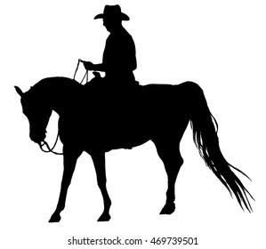 Western Horse Silhouette