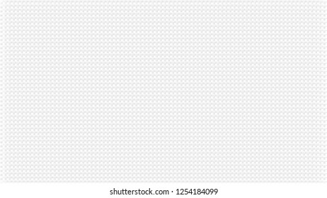 White abstract background with waffers texture. Pale grey crossed lines effect. Wide screen pattern, in frame.