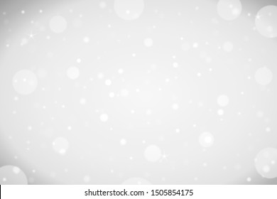 white abstract bokeh Christmas background, design backgrounds