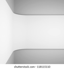 White Architecture Rendering