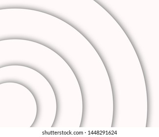 white background, with circles and gray gradients