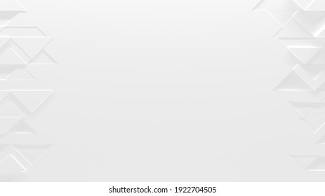 Arrière-Plan Blanc Avec Espace pour Copie (Illustration 3D)