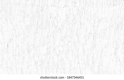 White background image drawn with a painting knife