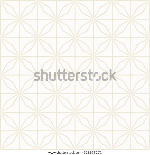 white background - seamless geometric pattern