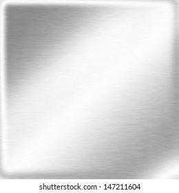 white background silver metal texture, mirror