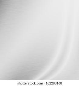 white background silver metal texture