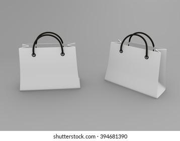 White bag mock up