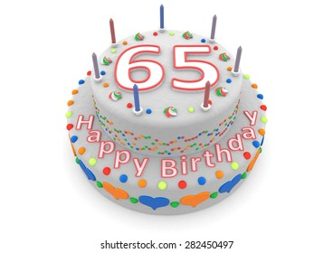 a white birthday cake with the age and happy birthday