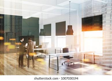 Fußboden Modern Talking ~ People business suits walking past ligth stockillustration 619193555
