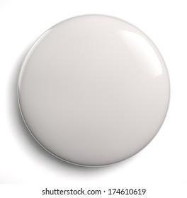 White blank badge
