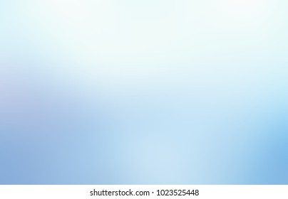White blue empty background. Ice abstract texture. Pale blurred illustration. Light defocused pattern.