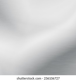 white board background chrome metal texture