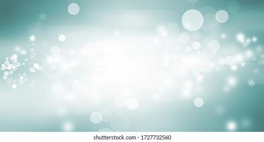 fond flou blanc de boukeh / Feu de cercle sur fond bleu / arrière-plan abstrait