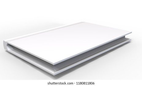 White book 3D