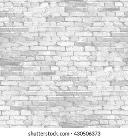 white brick wall - abstract seamless texture