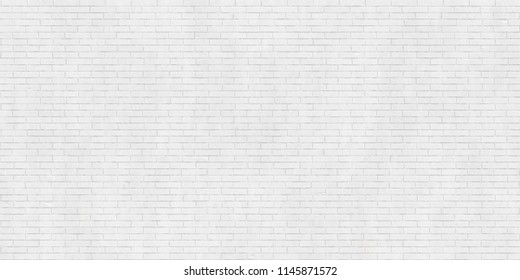 White brick wall texture, industrial style background, modern architecture detail