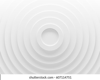 White circles. abstract pattern for web template background, brochure cover or app. Material style. Geometric 3D illustration.