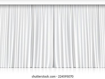 Background White Curtains Images, Stock Photos \ Vectors