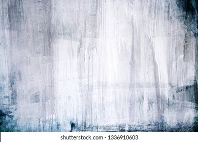 White dripping paint dripping on a surface, abstract background