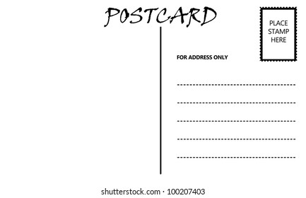 postcard template images stock photos vectors shutterstock